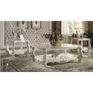 Maio Versailles 2 Piece Coffee Table Set Astoria Grand