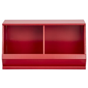 Lucille Birchkelly Stackable Storage 2 Compartment Cubby