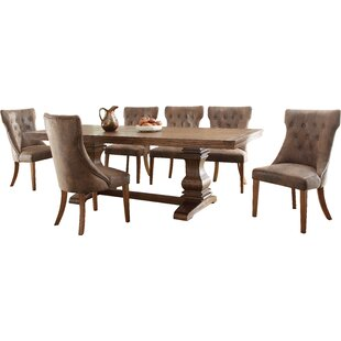 schwager extendable wood dining table - Kitchen Dining Tables