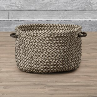 Superbe Burlington Outdoor Tweed Storage Basket