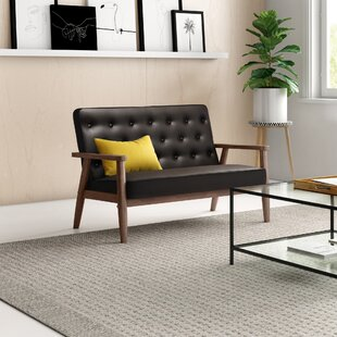 Zoee 48.95 Square Arm Loveseat by Zipcode Design™