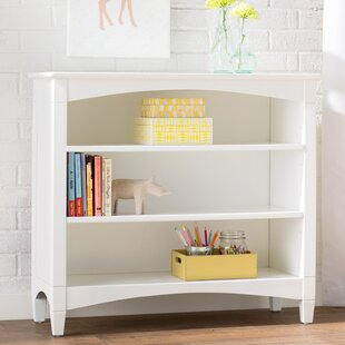 Bonneau Low Loft Bookcase In White
