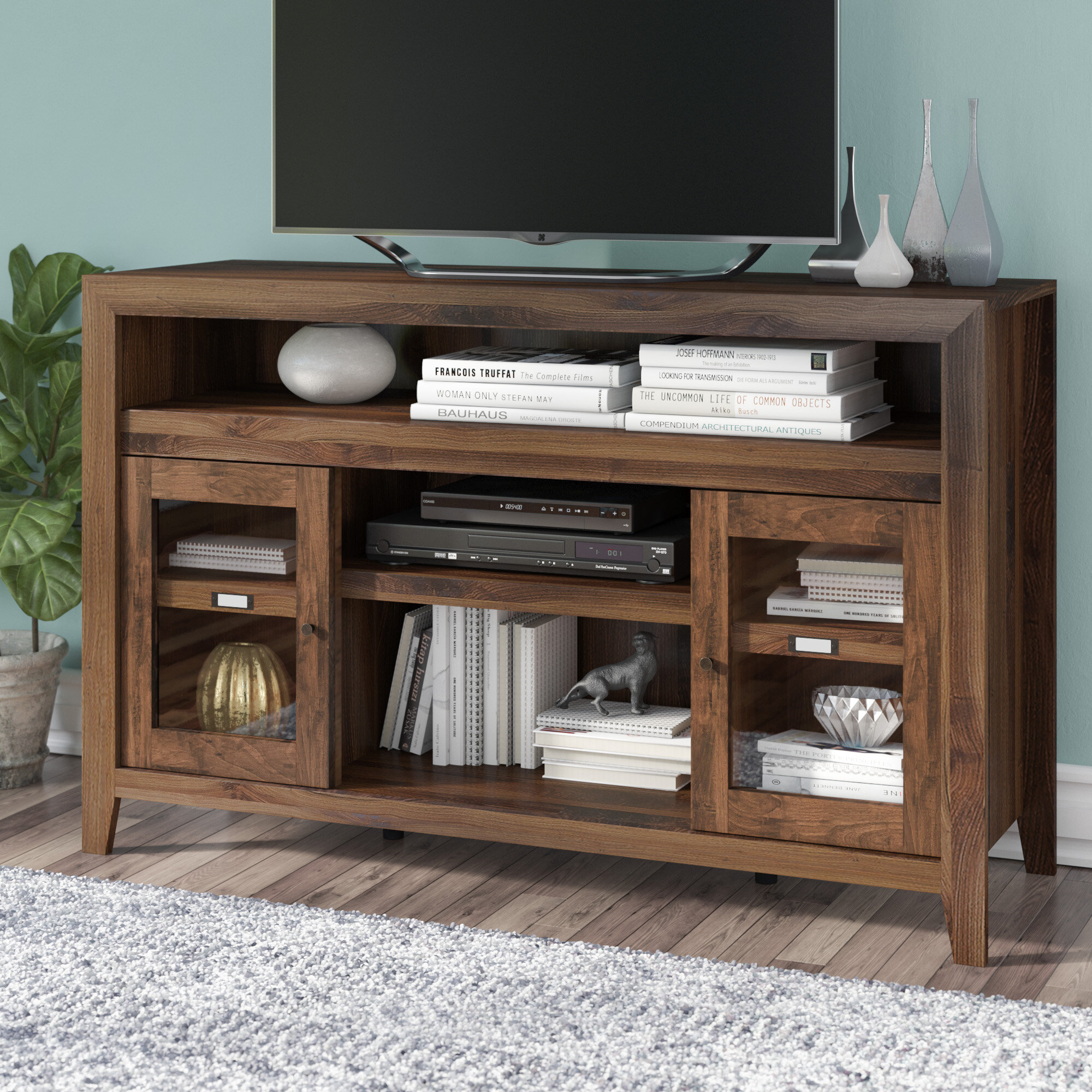 Lark Manor Cyril Credenza Tv Stand For Tvs Up To 60 Reviews Wayfair
