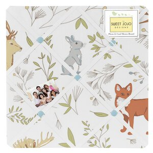 Woodland Toile Memo Board by Sweet Jojo Designs