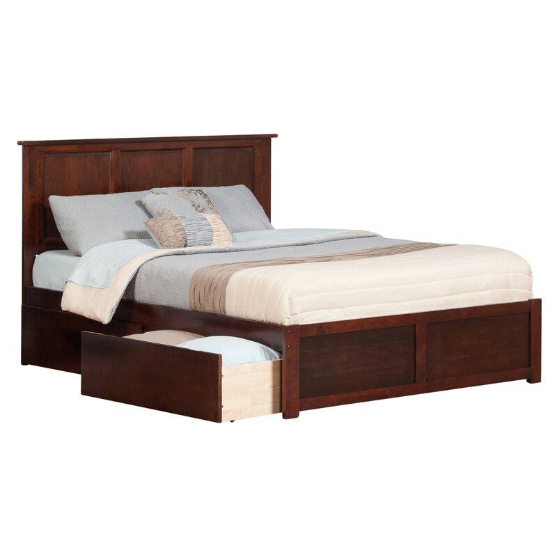 Andover Mills Marjorie King Storage Platform Bed & Reviews | Wayfair