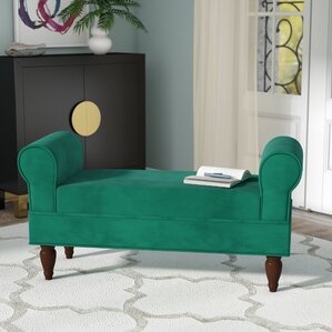 Antonetta Upholstered Bench by Willa Arlo Interiors