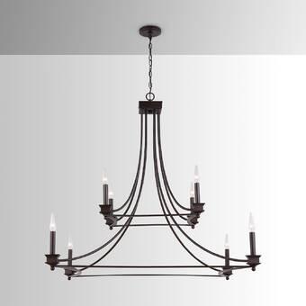 Kalco Winona 10 Light Candle Style Classic Traditional Chandelier Wayfair