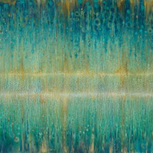Rain Abstract I Painting Print on Wrapped Canvas by East Urban Home