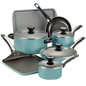 High Performance 17 Piece Nonstick Cookware Set