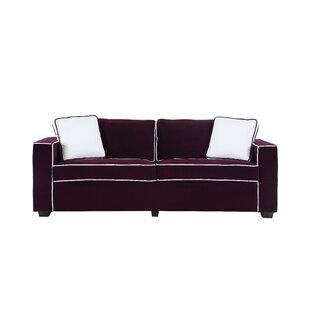 Arjun Modern Velvet Fabric Sofa