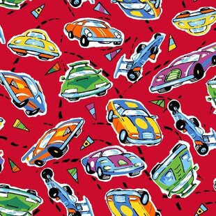 Price Check Race Cars Fitted Crib Sheet By Sheetworld