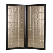 72 x 59 Beau Monde Screen 2 Panel Room Divider by Screen Gems
