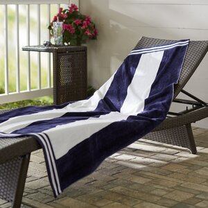 Wayfair Basics Striped Beach Towel
