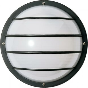 Hively 2-Light Outdoor Bulkhead Light By Brayden Studio Outdoor Lighting