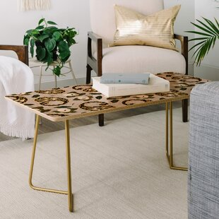 Marta Barragan Camarasa Paisley Botanical Coffee Table East Urban Home