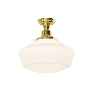 Online Reviews Moshier Outdoor Flush Mount By August Grove