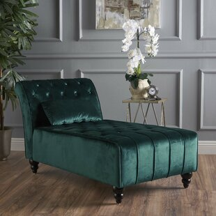 Andrews New Velvet Chaise Lounge