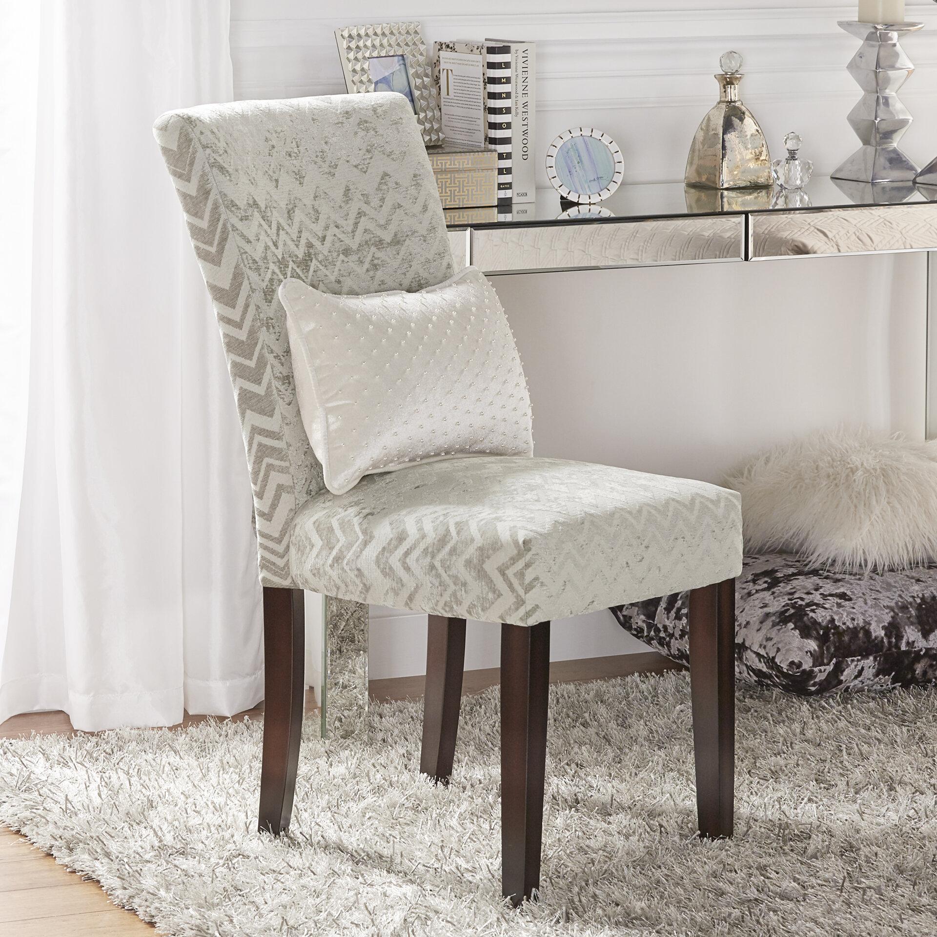 Charmant Willa Arlo Interiors Hurst Chevron Print Parson Chair U0026 Reviews | Wayfair