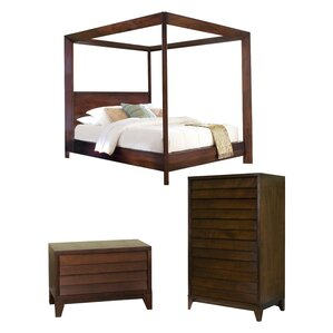 Island Canopy Configurable Bedroom Set by Home Image