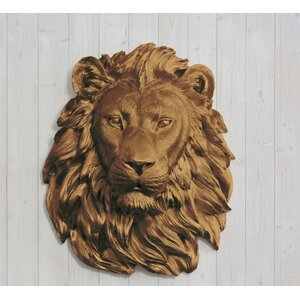 Buy Saharan Faux Taxidermy Lion Head Wall Du00e9cor!