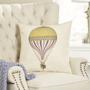 Sleeper Hot Air Balloon Pillow Cover