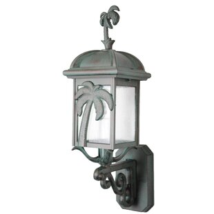 Best Price Penfield 1-Light Outdoor Sconce By Alcott Hill
