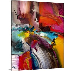 'Pool of Life' Graphic Art on Canvas by Mercury Row