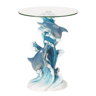 Great Price Wave Dancers Dolphin End Table ByZingz & Thingz