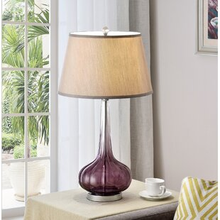 Reviews Mulberry 30'' Table Lamp By OK Lighting