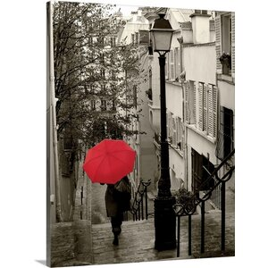 'Paris Stroll II' by Sue Schlabach Photographic Print on Wrapped Canvas by Great Big Canvas
