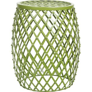Best Choices Tatjana Home Garden Accent Wire Round Stool By Zipcode Design