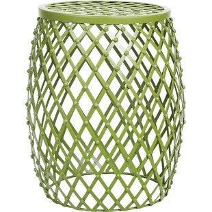 Tatjana Home Garden Accent Wire Round Stool ByZipcode Design