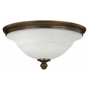 Compare Plymouth 3-Light Flush Mount By Hinkley Lighting
