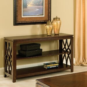 Blue Hills Console Table by Three Posts