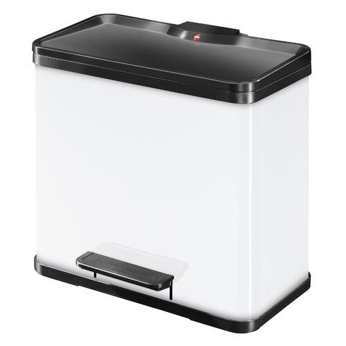 26 L Tret-Abfalltrenner Öko duo Plus Hailo Farbe: Weiß | Küche und Esszimmer > Küchen-Zubehör | Hailo