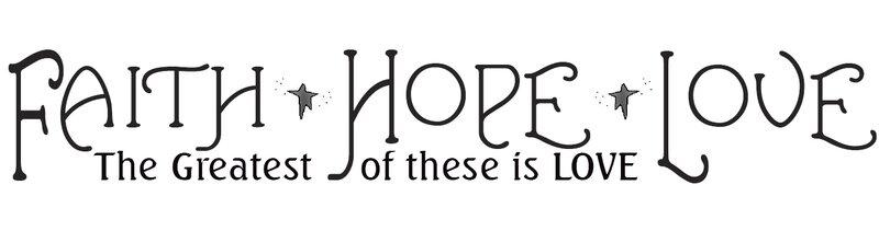 Faith Hope and Love Wall Decal  sc 1 st  Wayfair & Room Mates Faith Hope and Love Wall Decal u0026 Reviews | Wayfair