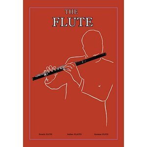 'The Flute' Framed Graphic Art by Buyenlarge