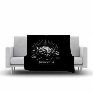 Best Reviews BarmalisiRTB Peaceful Fleece Blanket ByEast Urban Home