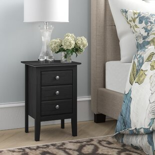 Check Prices Kissell 3 Drawer Nightstand By Andover Mills