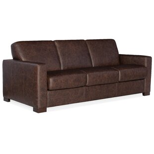 Peralta Leather Sofa Bed