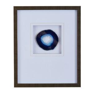 Agate Stone Framed Graphic Art by Mercer41