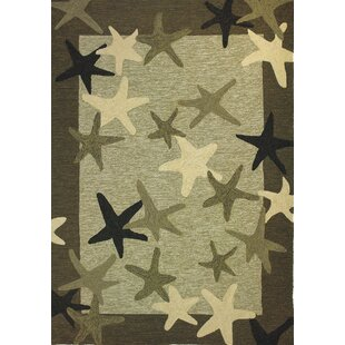 Coeymans Starfish Field Indoor/Outdoor Rug By Highland Dunes