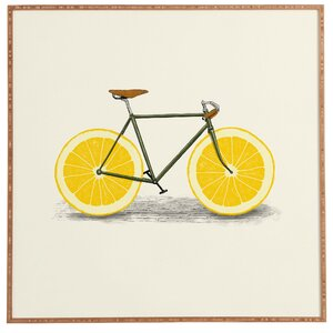 'Zest I' Framed Painting Print by East Urban Home
