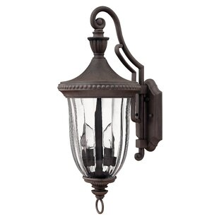 Purchase Diaw 3-Light Outdoor Wall Lantern By Astoria Grand