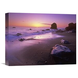 Nature Photographs Enderts Beach at Sunset, Redwood National Park, California by Tim Fitzharris Photographic Print on... by Global Gallery