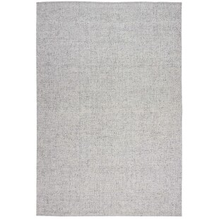 Tobiano Hand-Knotted Silver Area Rug by Calvin Klein
