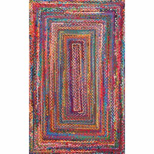 Kistler Hand Braided Multi Area Rug
