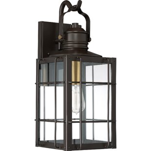 Victorina 1-Light Outdoor Wall Lantern By Longshore Tides Outdoor Lighting