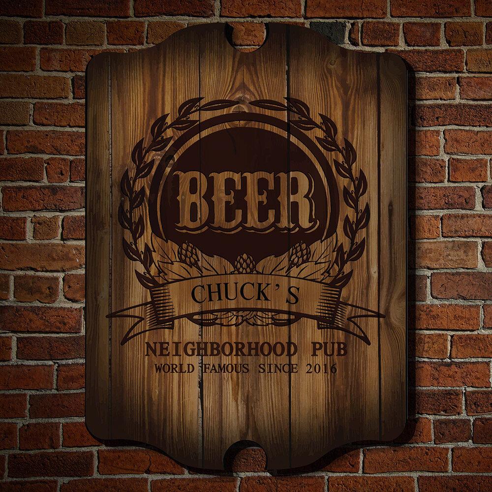 DRUNK CROSSING SIGN Pub Aluminum Wetbar Mancave Fun Decor