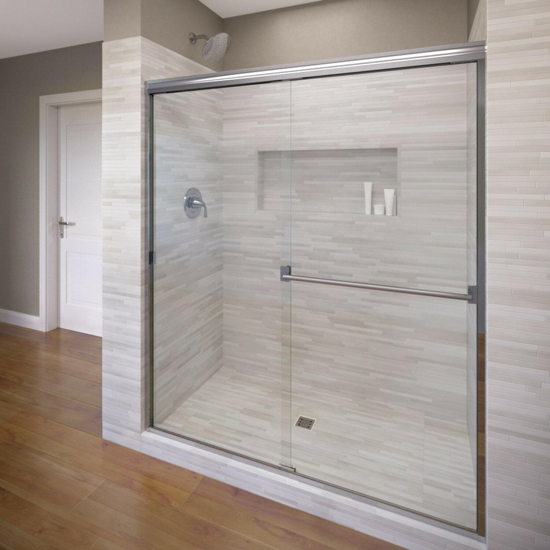 Classic 40 X 70 Frameless Bypass Sliding Shower Door